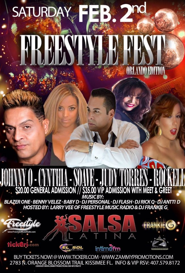 Flyer for Freestyle Fest - Orlando Edition