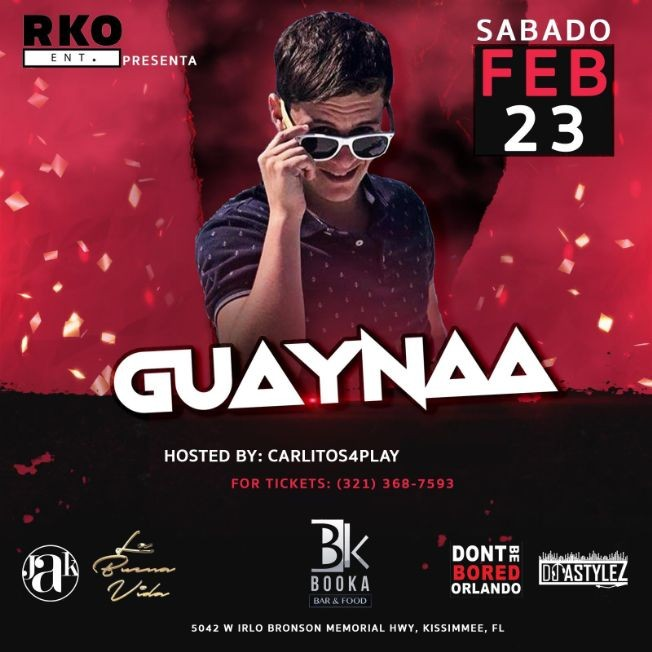 Flyer for Guayna
