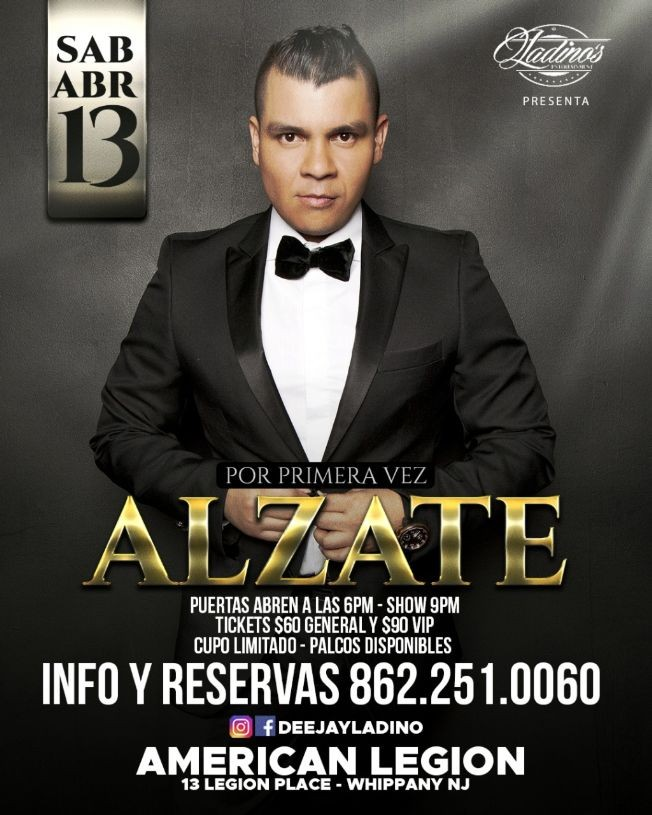 Flyer for ALZATE