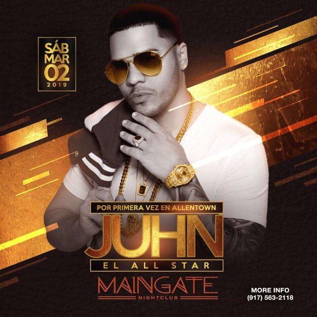Flyer for Juhn El All Star Live
