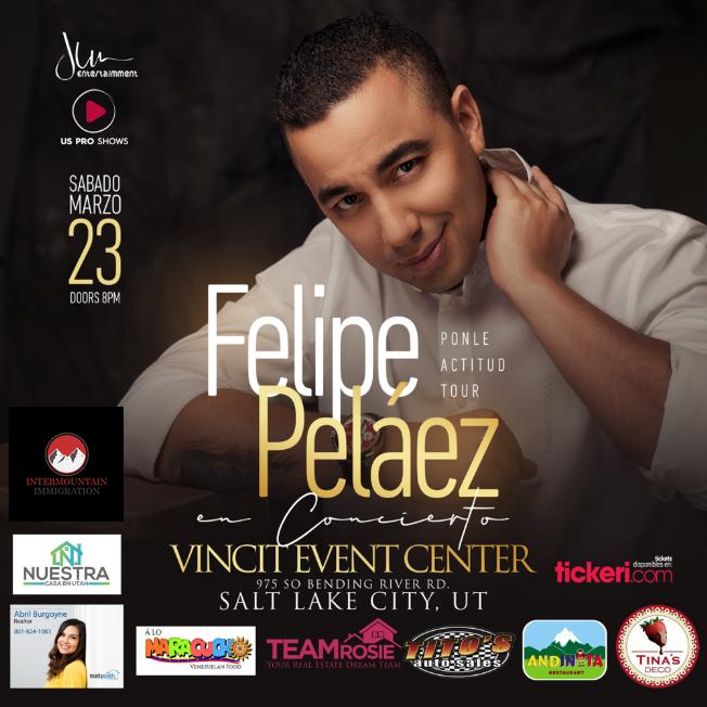 Flyer for Felipe Pelaez en Salt Lake City,UT