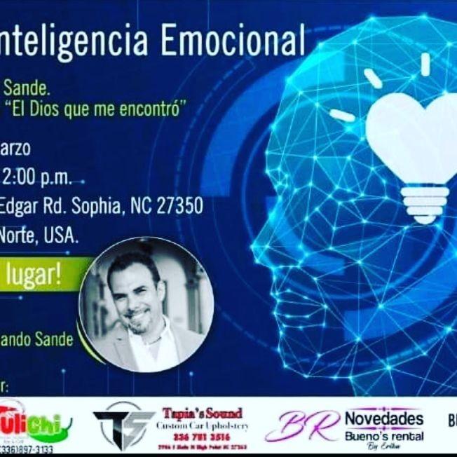 Flyer for Taller inteligencia emocional con Fernando Sande