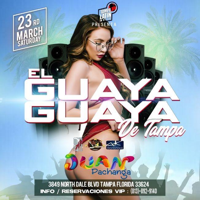 Flyer for EL GUAYA GUAYA DE TAMPA