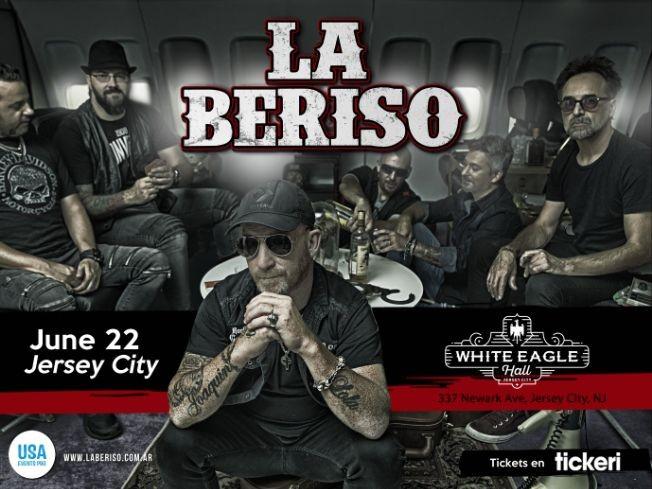Flyer for La Beriso en Jersey City