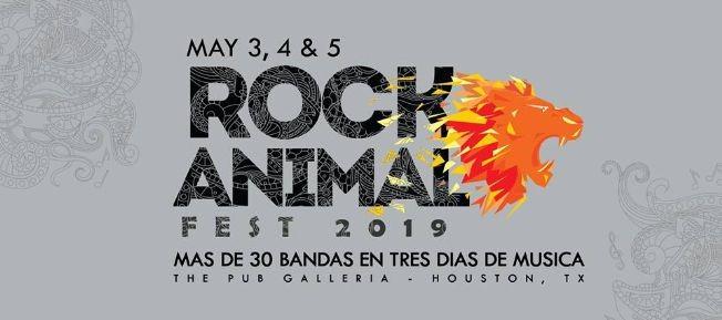 Flyer for Rock Animal Fest (Sunday)