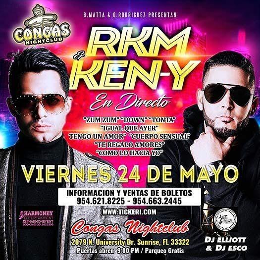 Flyer for RKM & Ken-Y