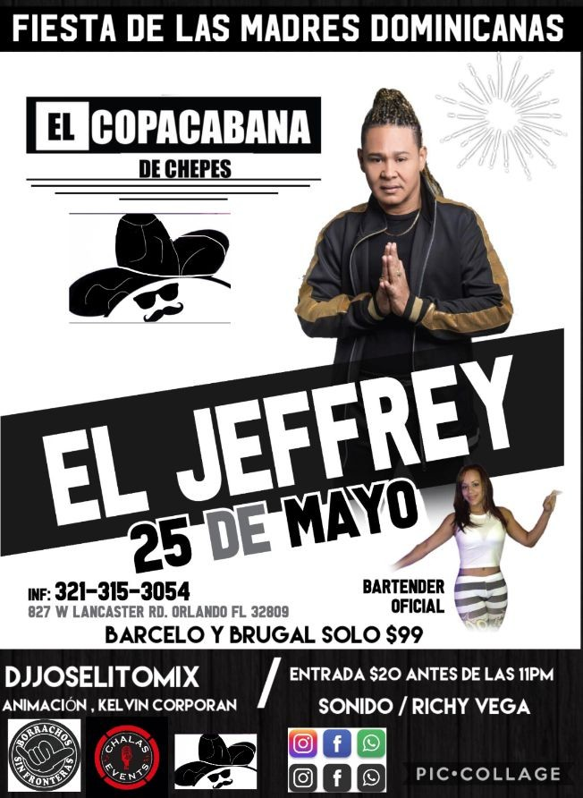 Flyer for El Jeffry ( el canta lindo )