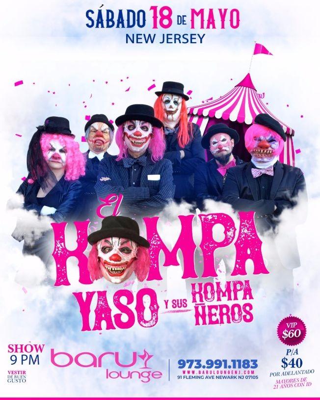 Flyer for EL KOMPA YASO