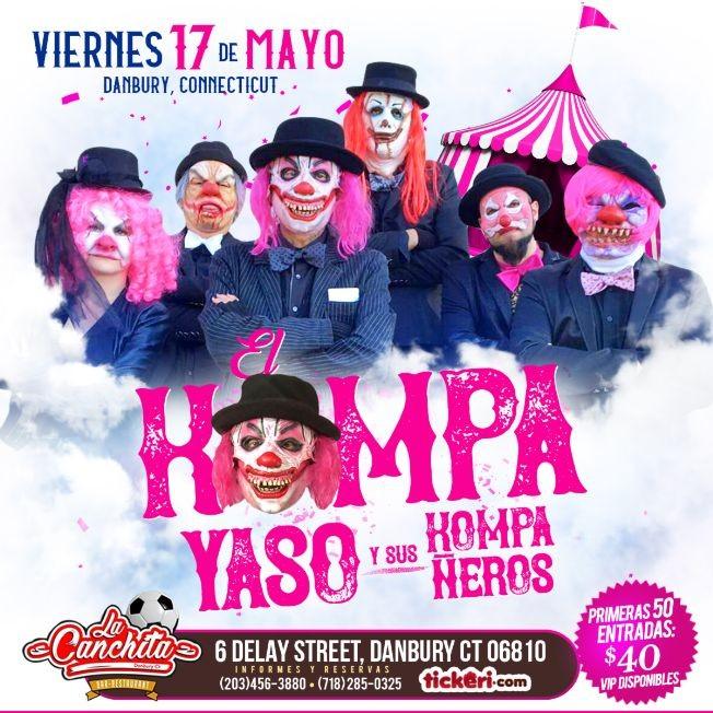 Flyer for El Kompa Yaso en CT