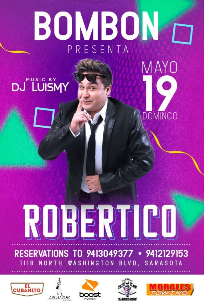 Flyer for ROBERTICO