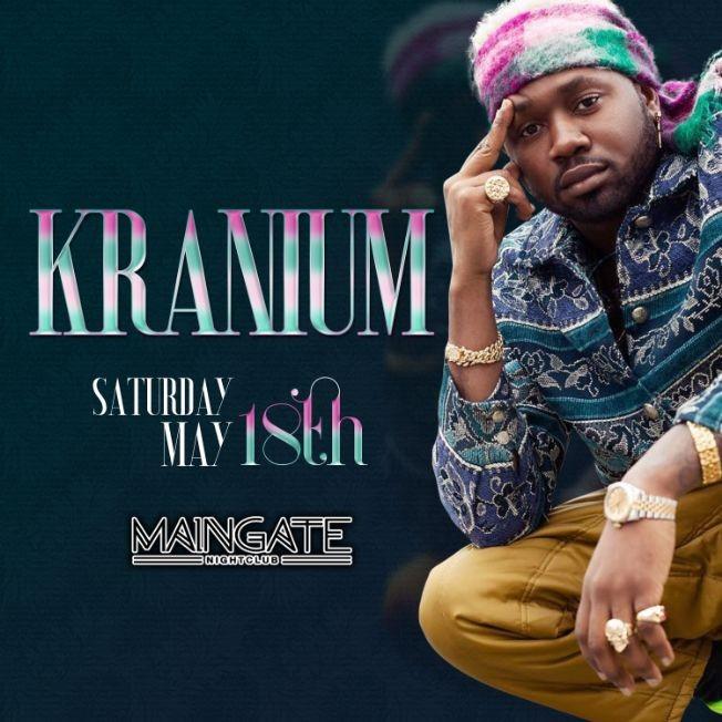Flyer for Kranium in Allentown