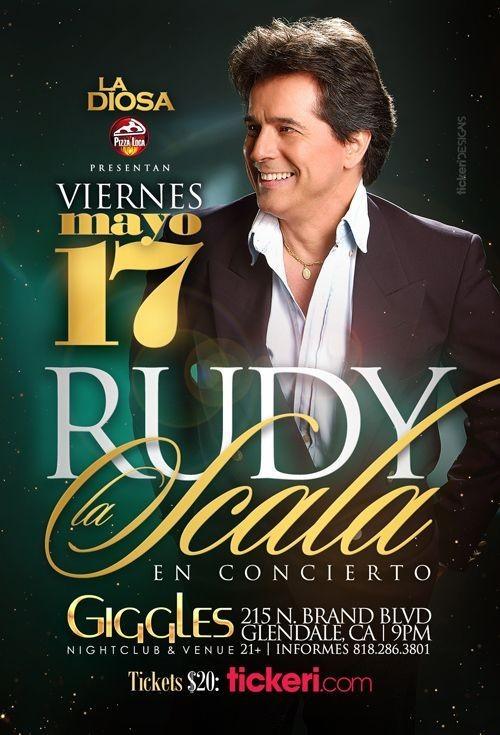 Flyer for RUDY LA SCALA EN LOS ANGELES
