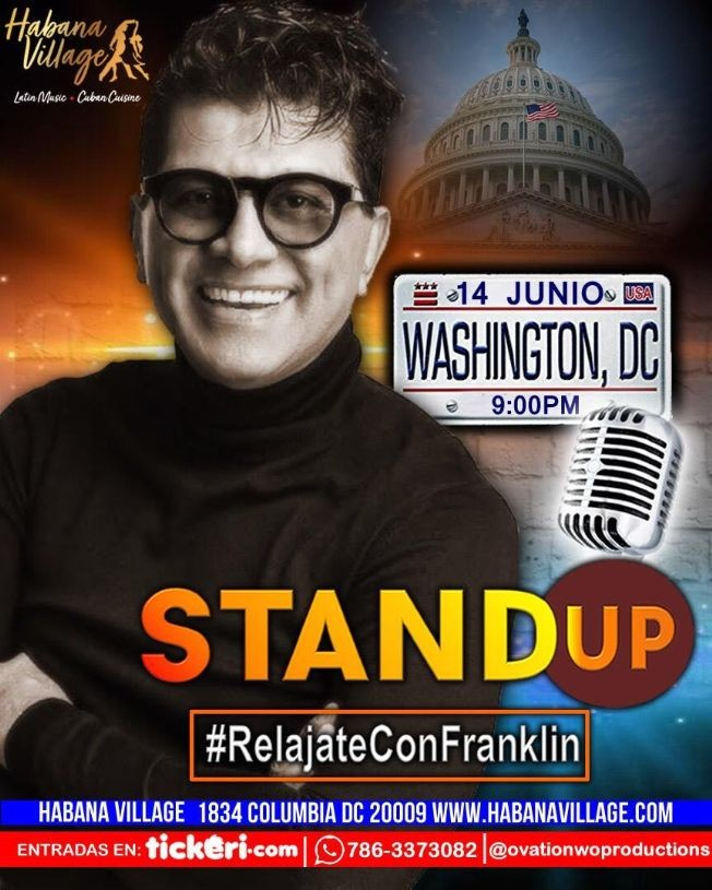 Flyer for Stand Up: Relajate con Franklin