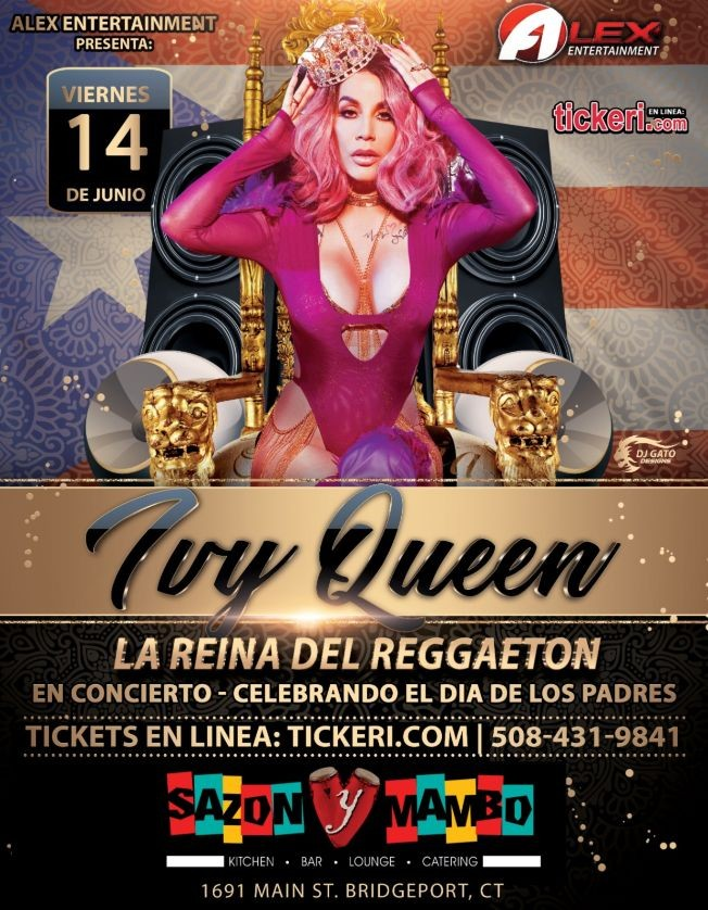 Flyer for Ivy Queen En Concierto