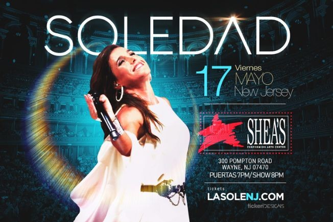 Flyer for Soledad en New Jersey