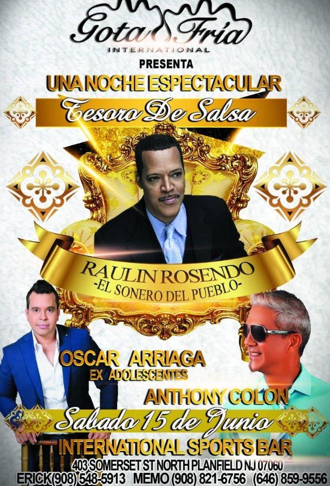 Flyer for Tesoro de Salsa