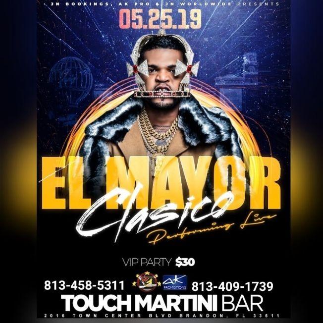 Flyer for El Mayor Clasico Live In Concert