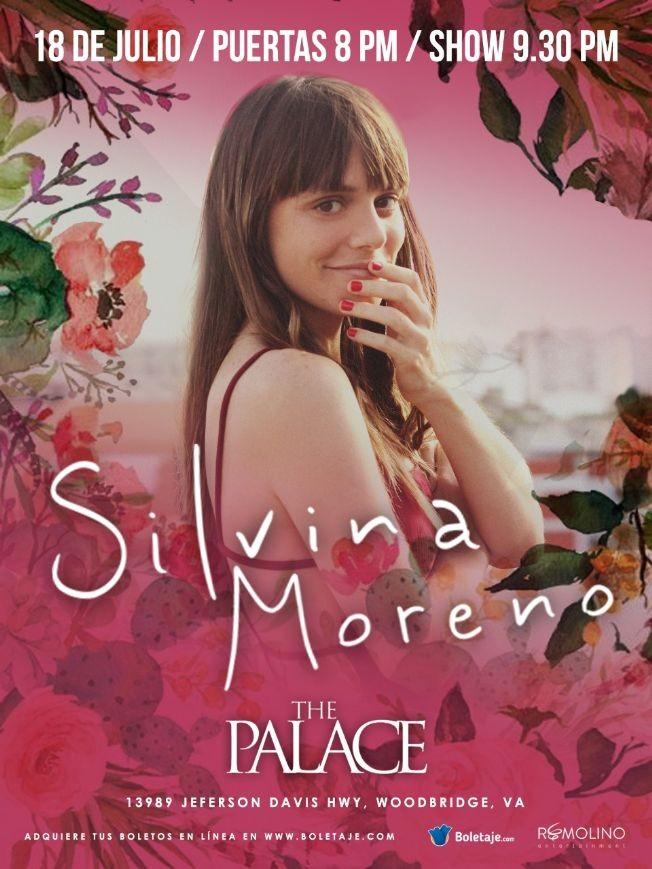 Flyer for SILVINA MORENO- en Woodbridge, VA CANCELED