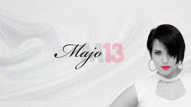 Flyer for Majo y la del Trece en concierto