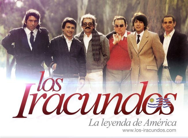 Flyer for LOS IRACUNDOS LIVE