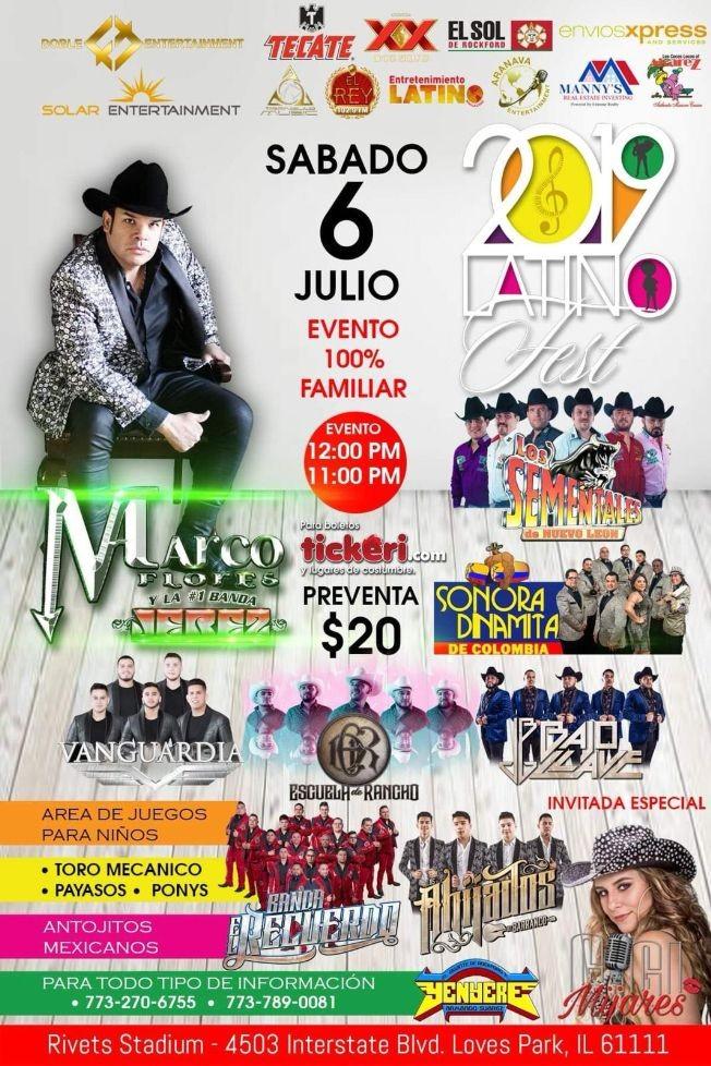 Flyer for Marco Flores y la #1 Banda Jerez