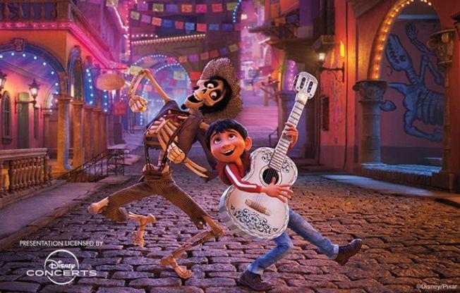 Flyer for Disney Pixar's Coco: In Concert Live to Film