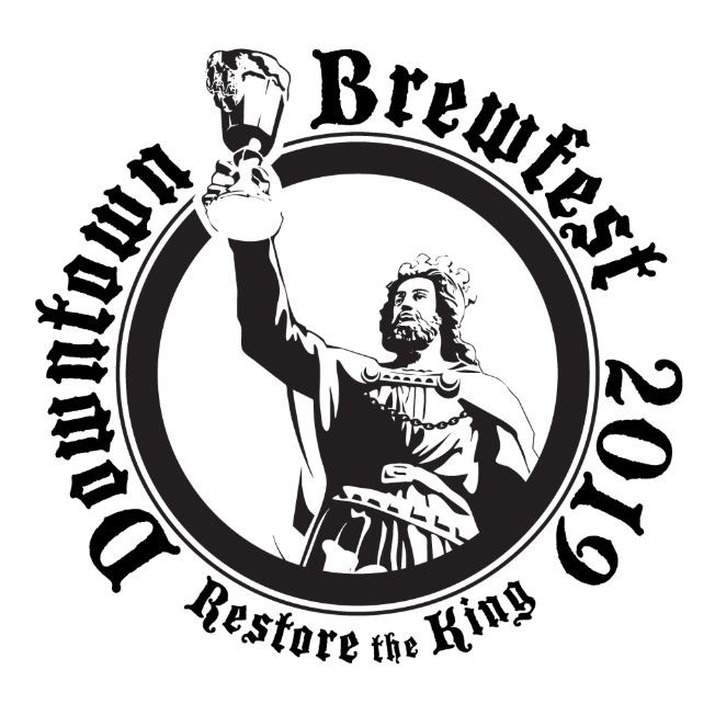 Flyer for DownTown BrewFest 2019