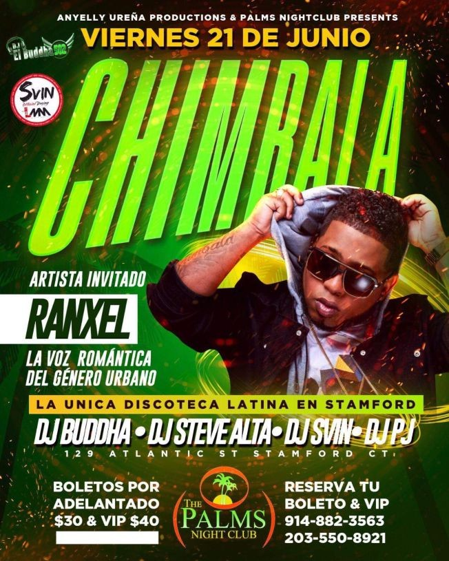 Flyer for CHIMBALA