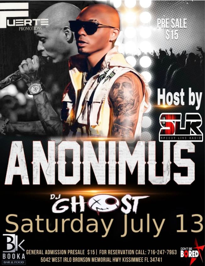 Flyer for Anonimus