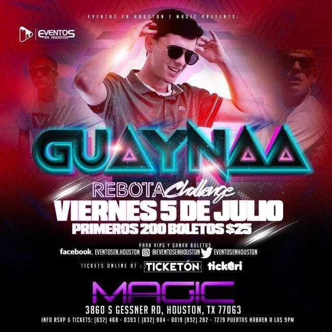 Flyer for GUAYNAA