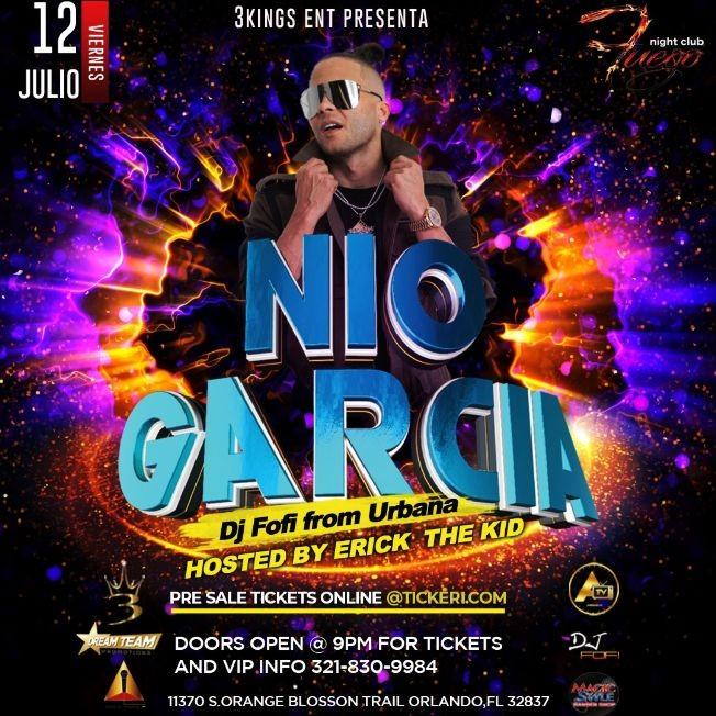 Flyer for Nio Garcia