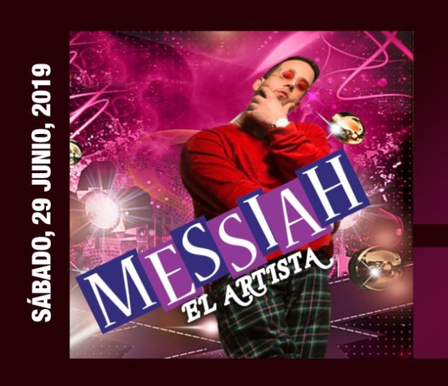 Flyer for Messiah El Artista LIVE at Empire Lounge!
