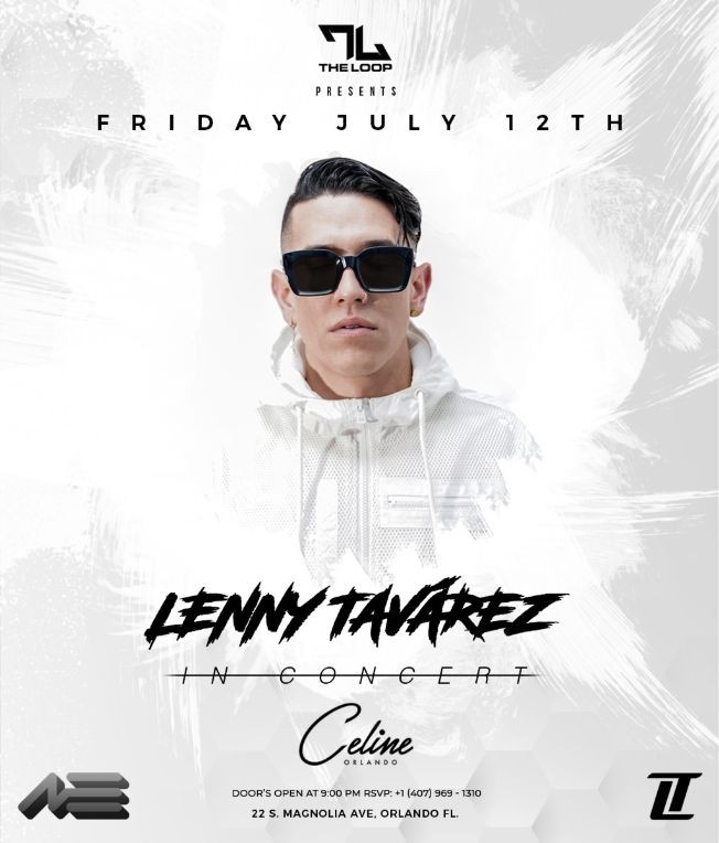 Flyer for LENNY TAVAREZ IN CONCERT - Orlando