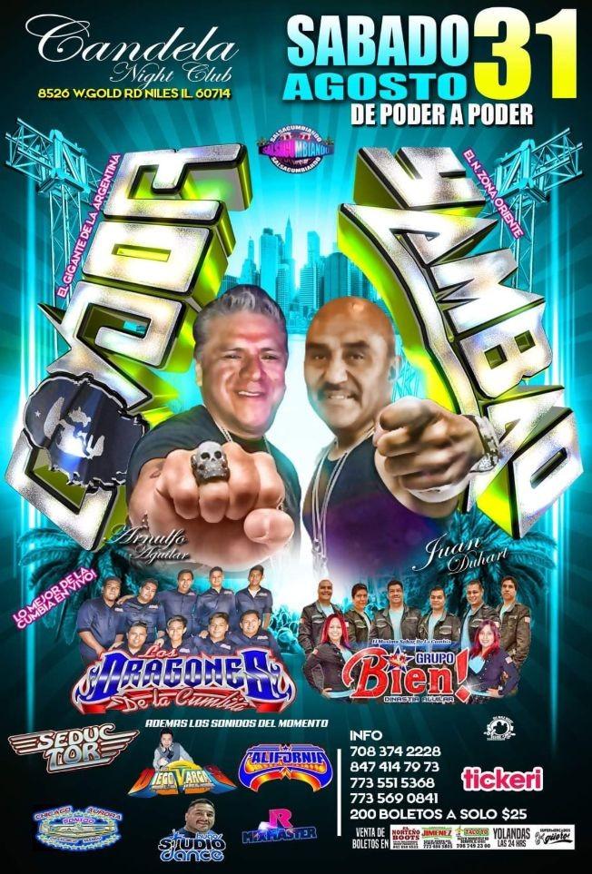 Flyer for CANDELA NIGHTCLUB !!!SONIDO CONDOR!!!!!!