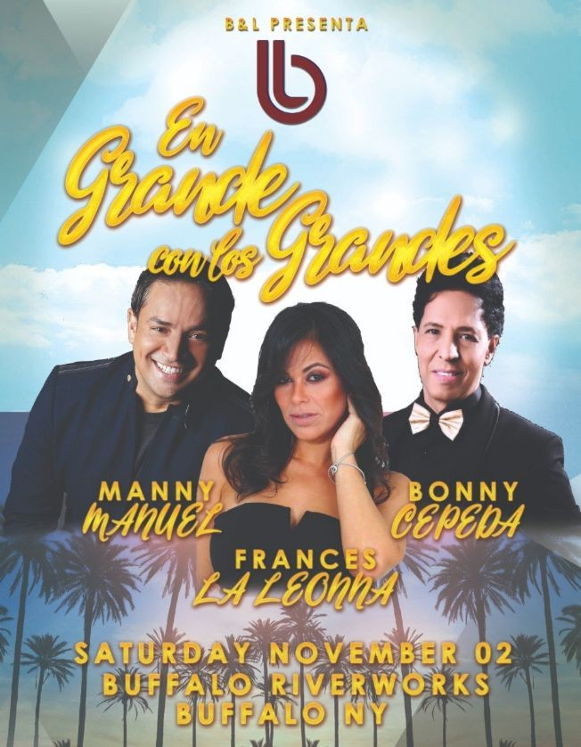 Flyer for En Grande con los Grandes