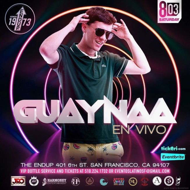 Flyer for GUAYNAA