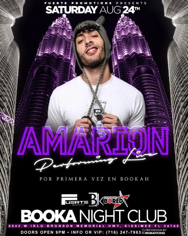 Flyer for Amarion