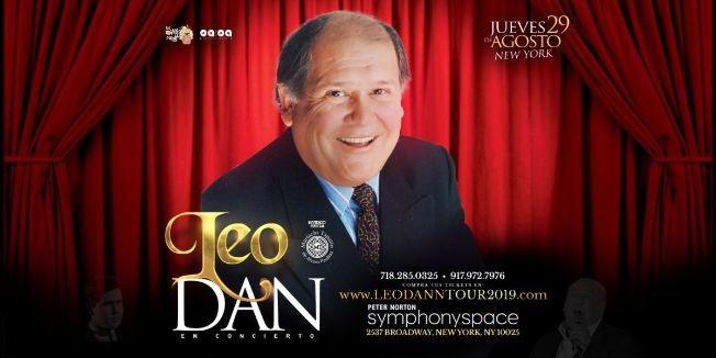 Flyer for Leo Dan en New York,NY
