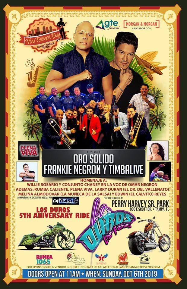 Flyer for 5to Aniversario Los Duros The Family