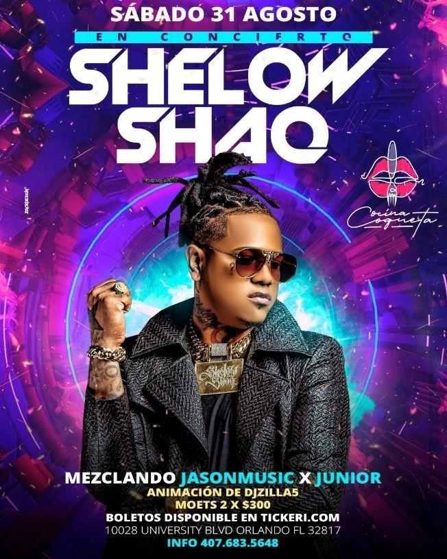 Flyer for Shelow Shaq in Orlando,FL
