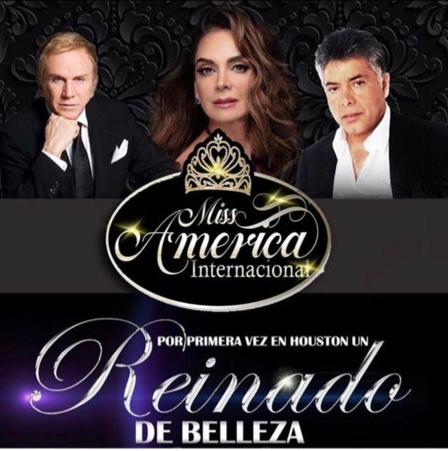 Flyer for Miss America International 2019