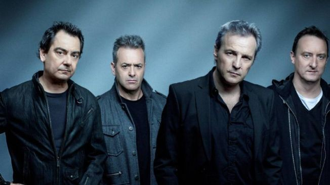 Flyer for HOMBRES G ( tributo )