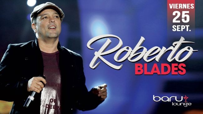 Flyer for ROBERTO BLADES