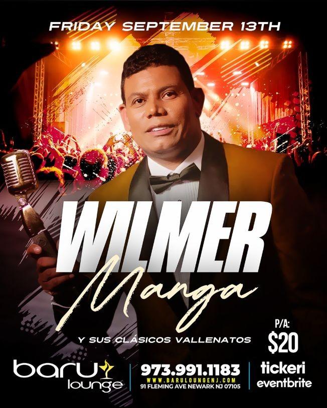 Flyer for WILMER MANGA