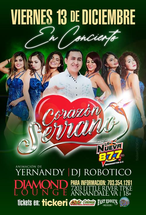 Flyer for Corazon Serrano