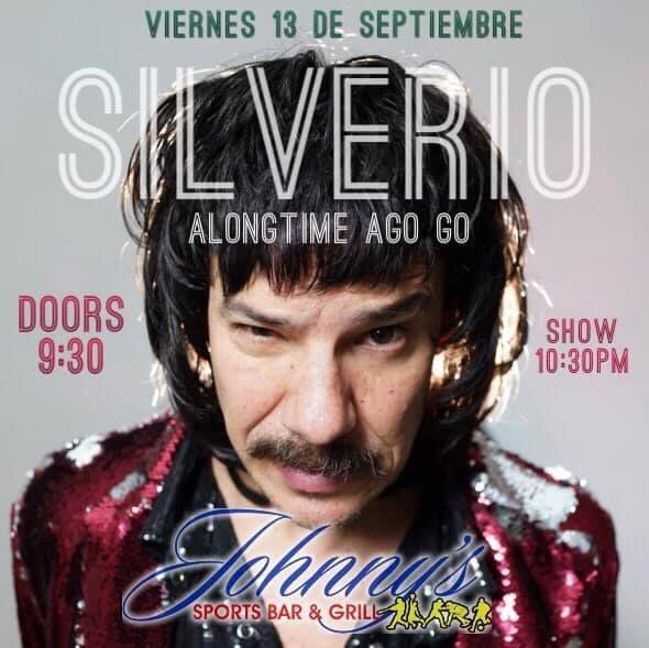 Flyer for SILVERIO vs ALONG TIME AGOGO - ATLANTA GA