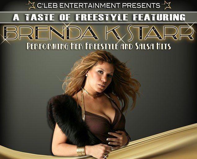 Flyer for A Taste Of Freestyle feat. Brenda K Starr