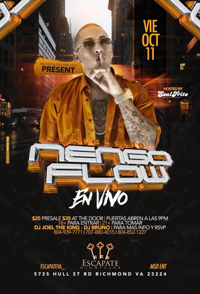 Flyer for Nengo Flow