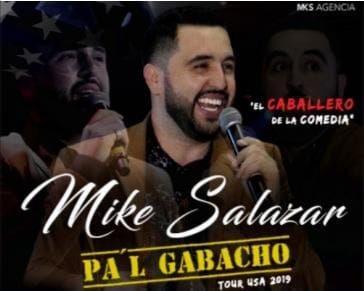Flyer for Mike Salazar En Tampa,FL