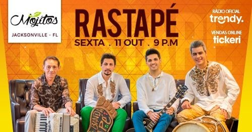 Flyer for Rastapé no Mojito's